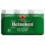 Heineken Premium Pilsener Blik 6-pack