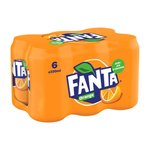 Fanta Orange blik 6-pack